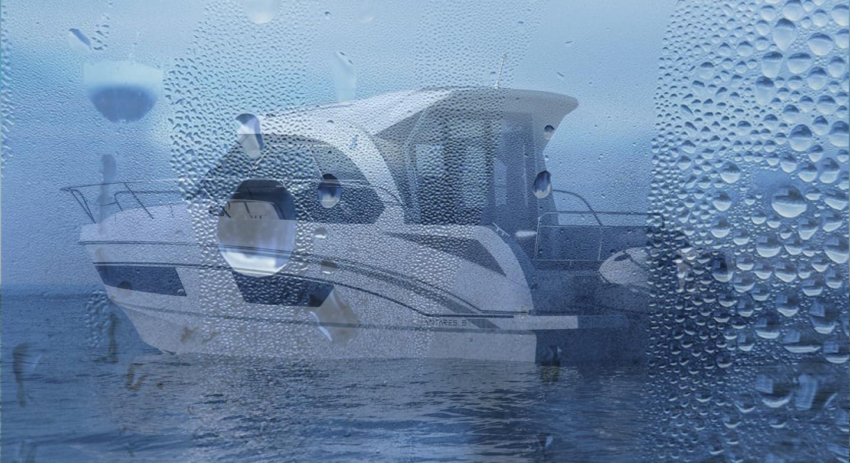 humedad a bordo