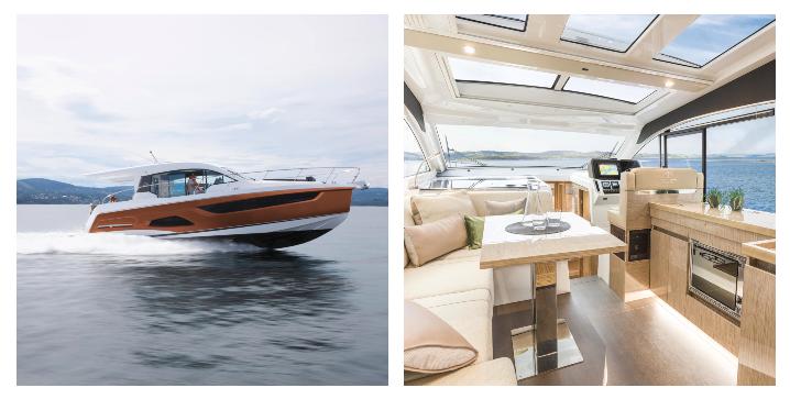 Sealine C390. Fotos: yachts.group/sealine.