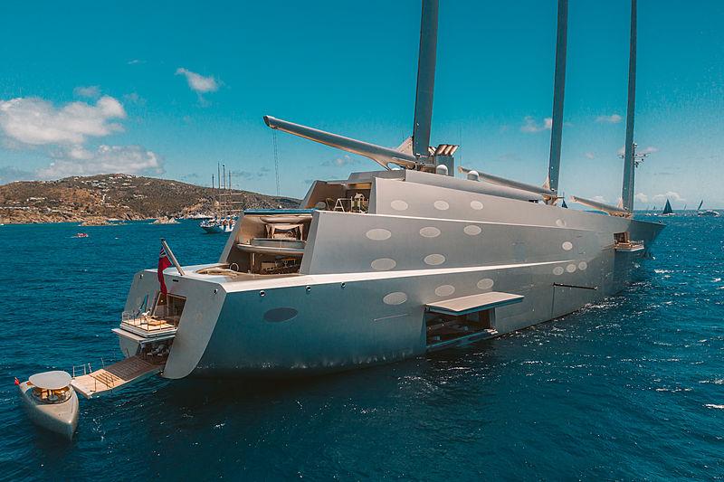 Velero más grande del mundo_Sailing Yacht A