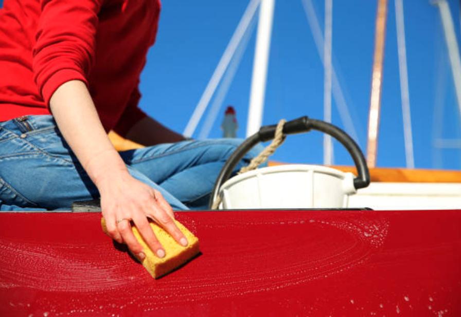 Preparar el barco para la venta