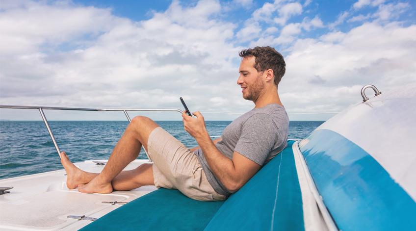 Apps gratis para navegar en el mar