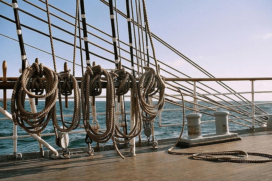 ¿Cuáles son los tipos de nudos marineros?