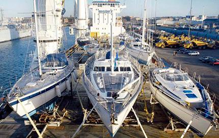 Transporte de barco