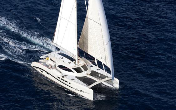 TAG 60 XR: Catamarán a vela de máxima tecnología