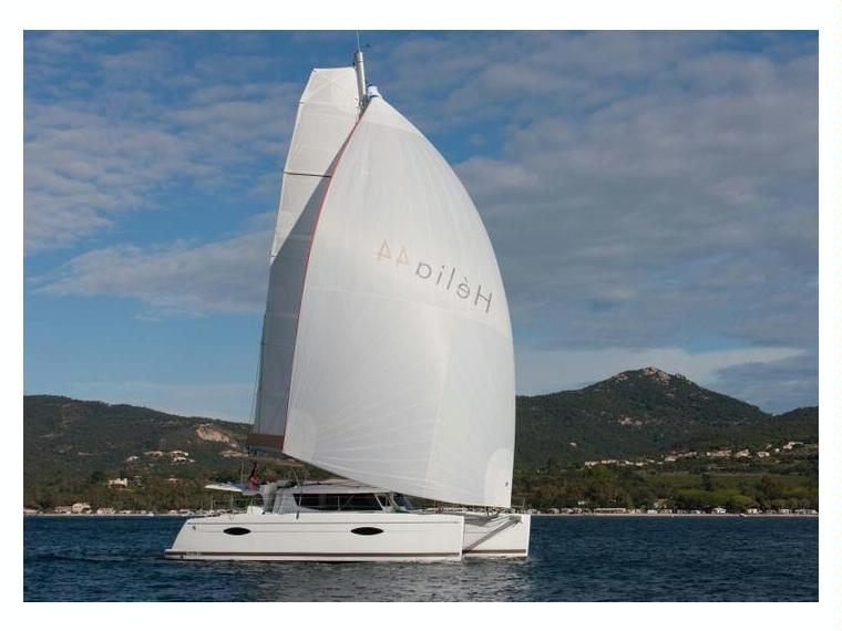 Fountaine Pajot Hélia 44, confortable catamarán de crucero