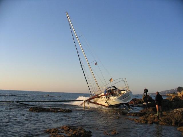 Seguro del barco Varada