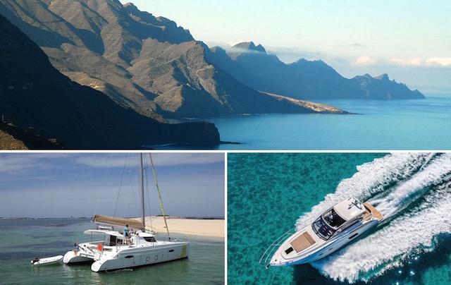charter barco canarias