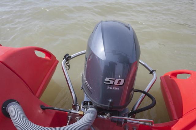 Prueba-Whaly-500 motor Yamaha F50