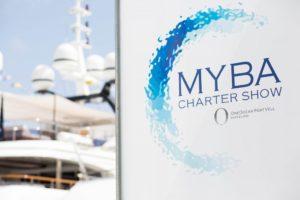 MYBA Charter Show. Del 23 al 26 de abril de 2018 en Barcelona.