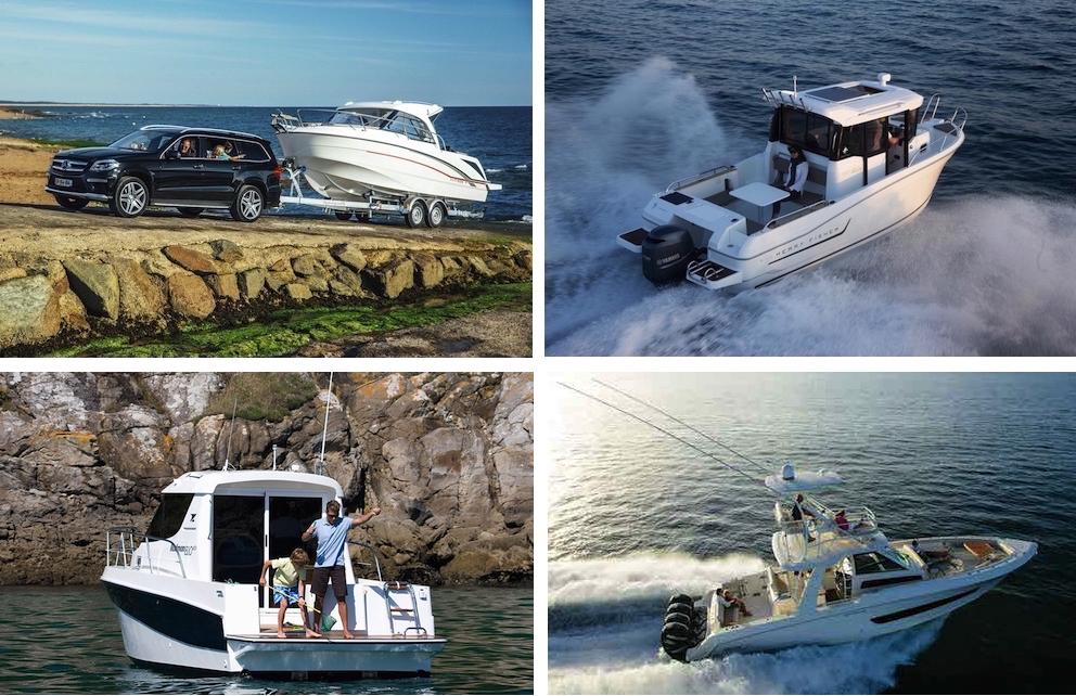 Por su estabilidad y amplitud interior, los barcos de pesca también se adaptan bien a los programas familiares.