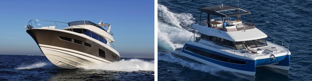 Los monocascos dominan el mercado, pero los catamaranes tienen mucho éxito en el chárter por su maniobrabilidad, comodidad y espacio.